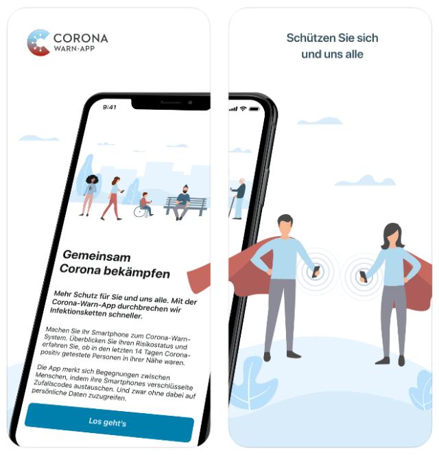 German contact-tracing app: Corona-Warn-App