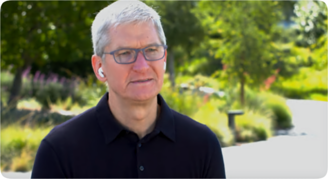 Apple CEO Tim Cook (image: CBS News)