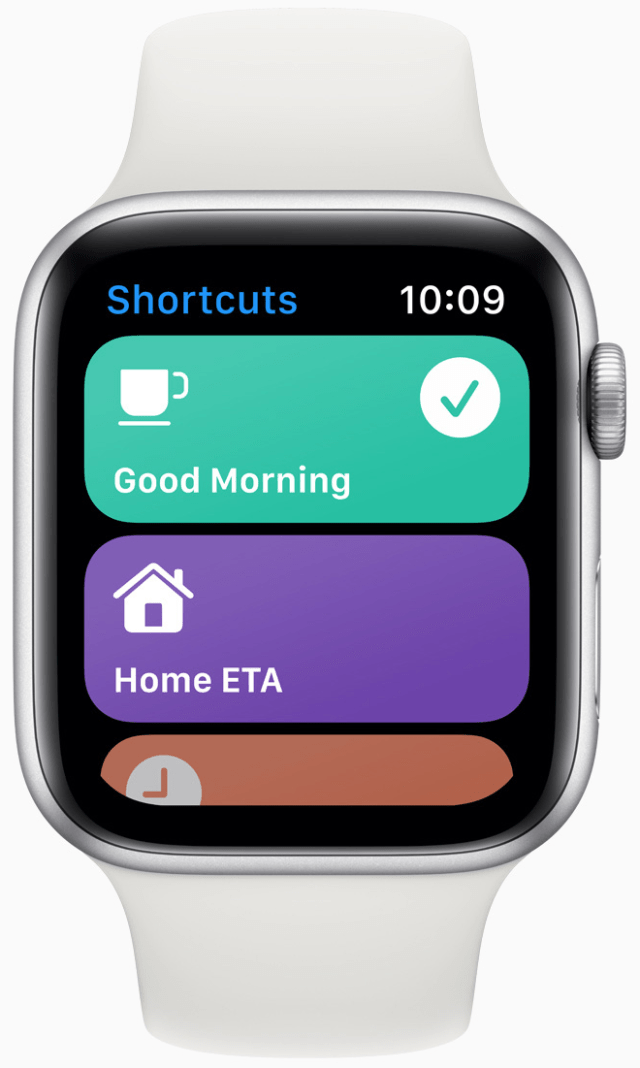 The Shortcuts app is now on Apple Watch.