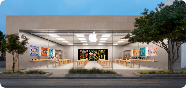 Apple Knox Street in Dallas, Texas