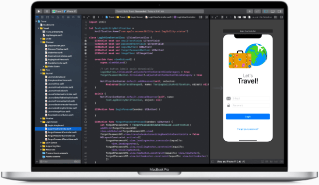 Xcode on Mac is the center of the Apple development experience, and Swift is Apple's powerful, intuitive open programming language that lets everyone build amazing apps.