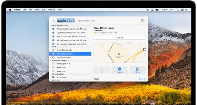 Apple's Spotlight on the Mac