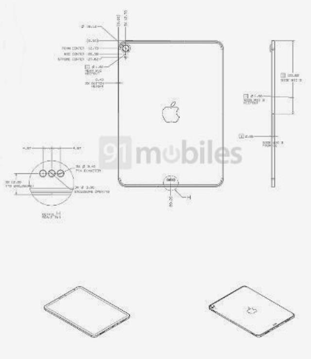 iPad 2020 design schematics reveal iPad Pro-like design and Magic Keyboard support