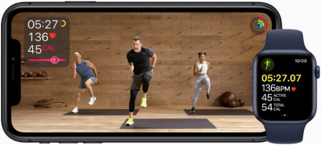Apple Fitness+ is the first fitness experience built for Apple Watch and will be available later this year.