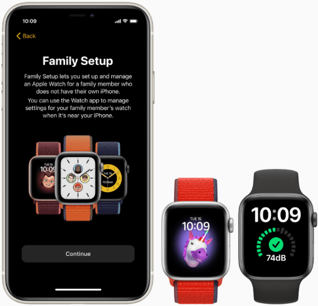 Family Setup in watchOS 7 brings Apple Watch features to family members who do not have an iPhone.