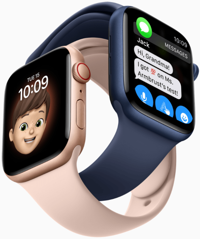 Family Setup brings the Apple Watch experience to the whole family, including children and older adults.