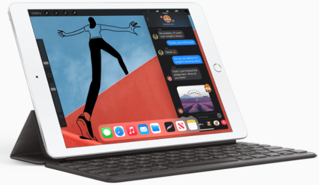 The eighth generation iPad has the powerful A12 Bionic with Neural Engine, a beautiful 10.2-inch Retina display and so much more.