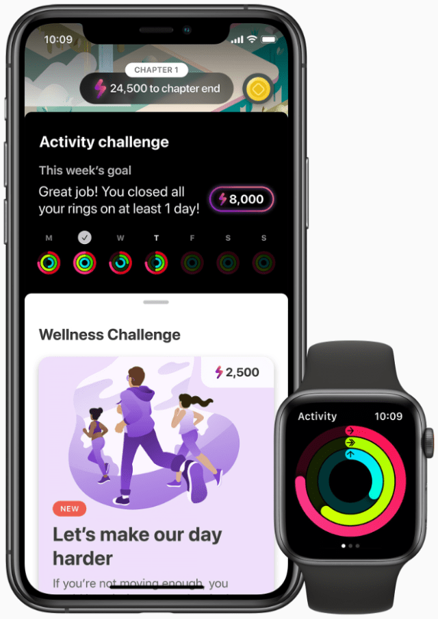 The LumiHealth app has challenges designed to help users sleep better, move more, eat well and live more attentively.