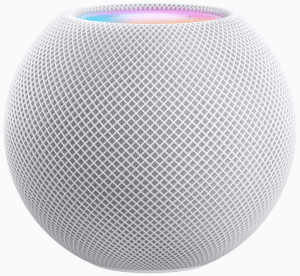 HomePod mini, the newest addition to the HomePod family, stands at 3.3 inches tall and offers impressive sound, the intelligence of Siri, and smart home capabilities.