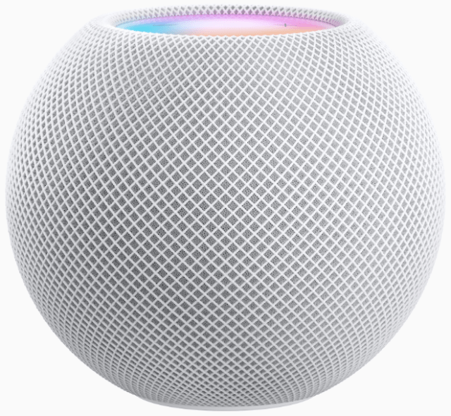 The HomePod mini, the latest addition to the HomePod family, is 3.3 inches high and offers impressive sound, Siri intelligence and smart home features.