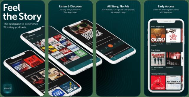 Wondery app
