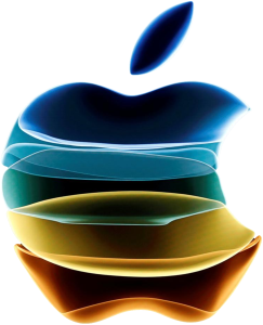 Apple share price. Image: Apple logo