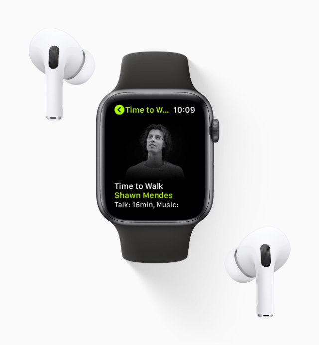 Time to Walk is an inspiring new audio walking experience on Apple Watch for Fitness+ subscribers, created to encourage users to walk more often and reap the benefits from one of the healthiest activities.