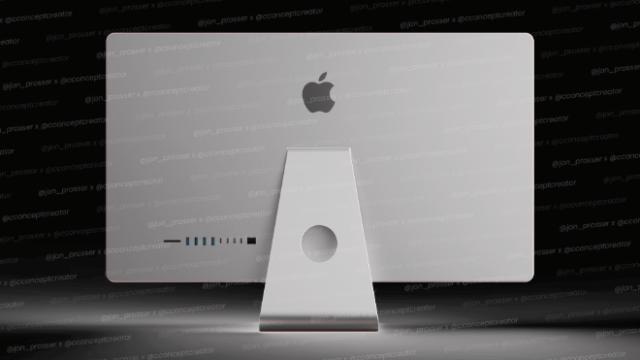 iMac (rear) (Image via Jon Prosser)