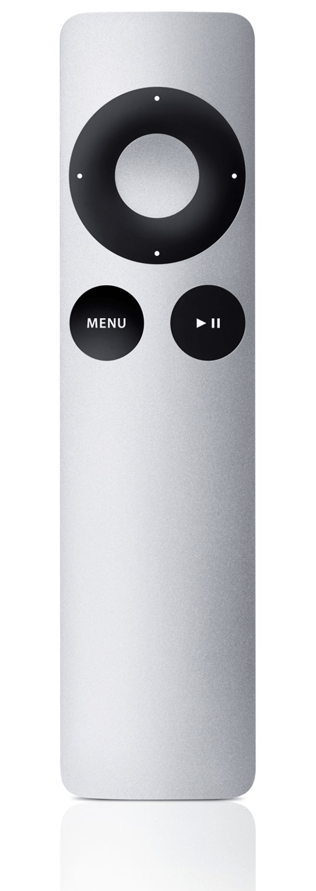 The Apple Remote for Apple TV (2nd and 3rd generation)