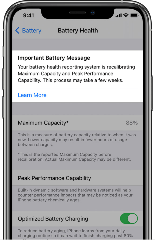How Apple's iPhone battery recalibration works in iOS 14.5