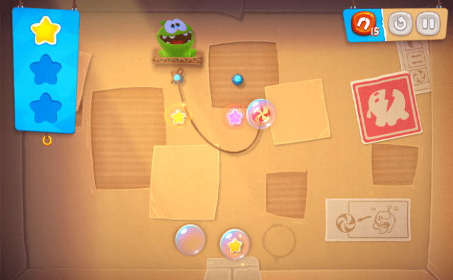 """""""Cut the Rope Remastered"""" from Paladin Studios brings back Om Nom, the little green monster that loves sweets."""