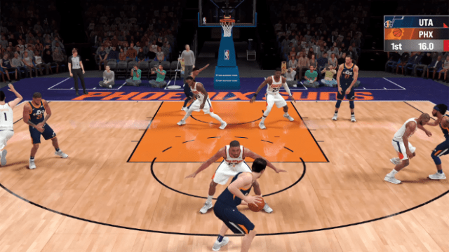 """""""NBA 2K21 Arcade Edition"""" from 2K Games features performance optimizations and higher graphic quality to deliver an authentic NBA experience."""