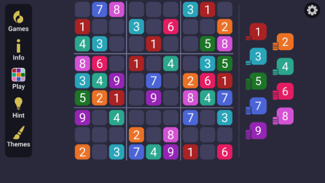 """MobilityWare's """"Sudoku Simple"""" offers a beginner-friendly version of the classic puzzle."""