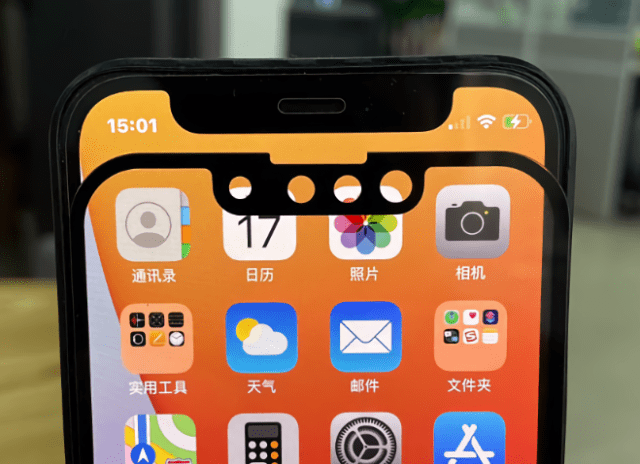 """New photos show the noticeably reduced """"iPhone 13"""" notch vs. the older iPhone X - iPhone 12"""