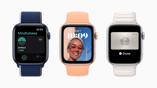 watchOS 8 brings new access, connectivity, and mindfulness features to Apple Watch this fall.