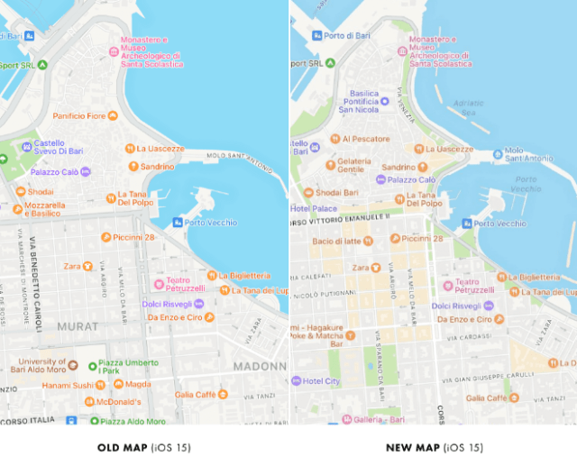 Apple Maps improvements now being tested in Italy