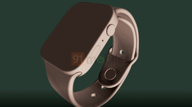 'Apple Watch Series 7' renders show larger speakers, square-edged design