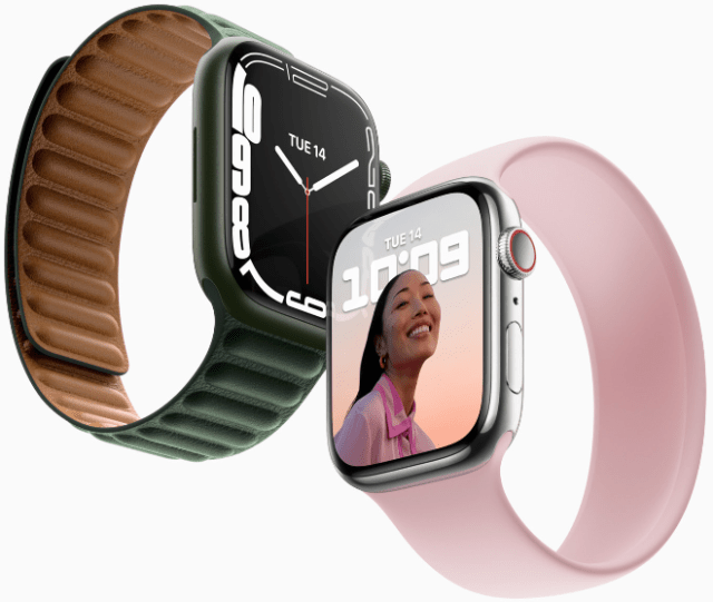 Introducing Apple Watch Series 7, featuring the largest, most advanced display.