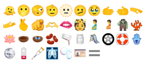 Here are the new emoji bound for Apple's iPhone, iPad, Apple Watch, and Mac