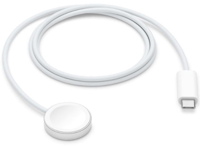 Apple Watch SE now comes with the 1m Magnetic Charger to USB-C Cable