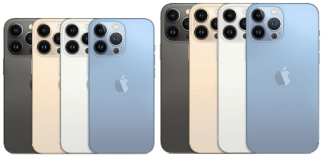 Apple's 6.1-inch iPhone 13 Pro and flagship 6.7-inch iPhone 13 Pro Max offer storage up to 1TB