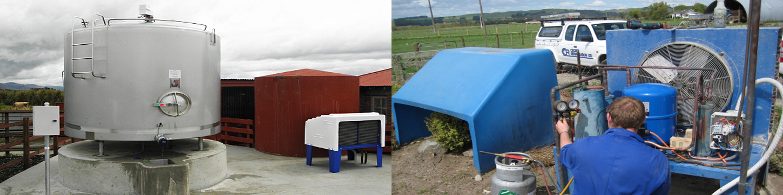 Cold Milk Farm Vat Refrigeration - OP Slider pic 1