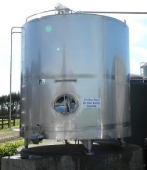 Milk Storage Vats