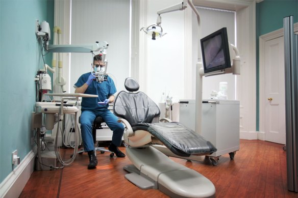 Inside the MacEndo Endodontic practice.
