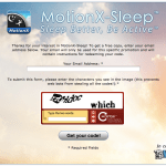 500 Free codes for Motion X Sleep