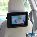 Scosche backStage Pro headrest mount for iPad