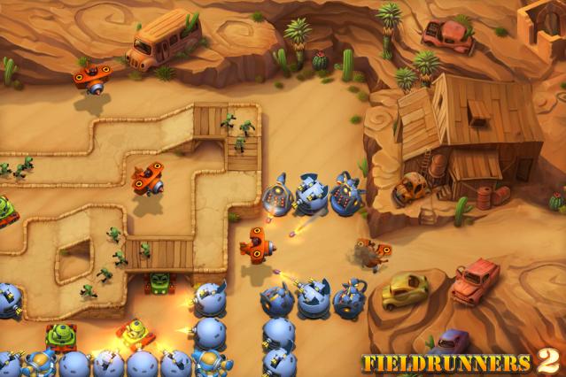 Fieldrunners 2 Map