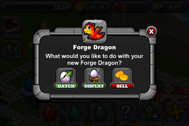 DragonVale FORGE Dragon