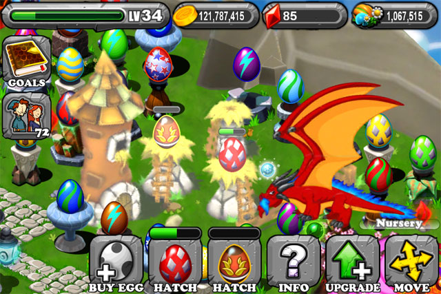 DragonVale OLYMPIC GOLD Dragon Egg