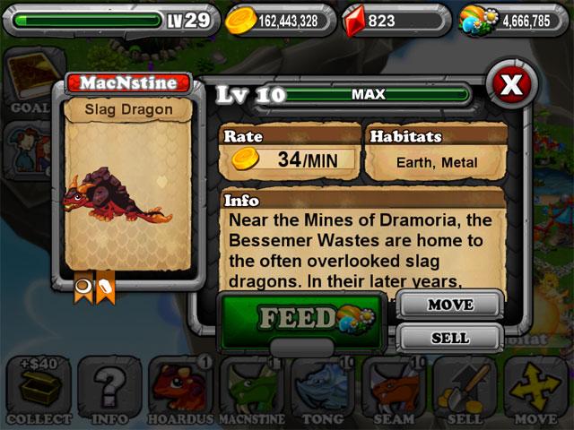 DragonVale SLAG Dragon 2