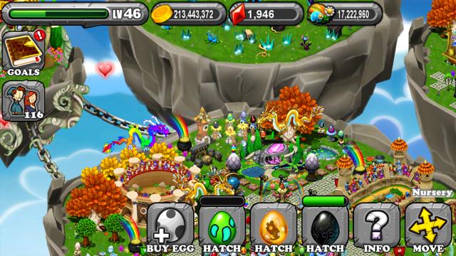 DragonVale Fungus Dragon Egg