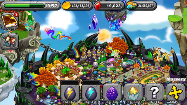 DragonVale Lodestone Dragon Egg