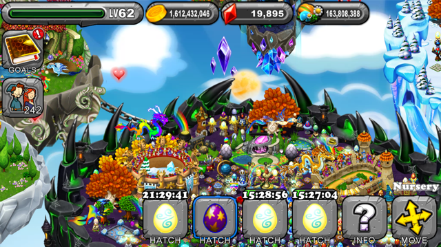 Dragonvale Halo Dragon Egg