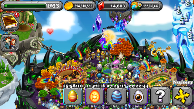 DragonVale Andromedan Dragon Egg