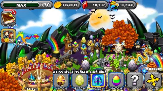 DragonVale Harvest Dragon Egg