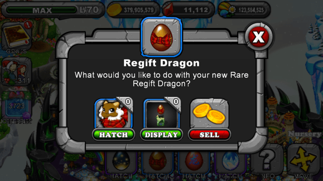 Dragonvale Regift Dragon Egg