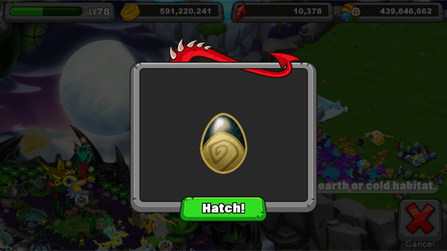 dragonvale decay dragon egg