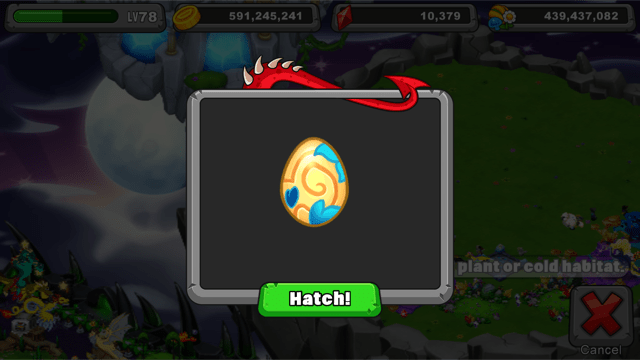 dragonvale thicket dragon egg