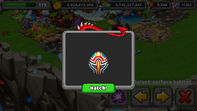 dragonvale totem dragon egg