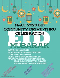 Eid-ul-Fitr Parade @ MACE Islamic center
